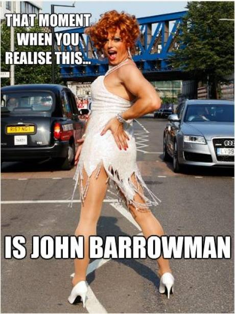 That Moment When You Realize... #JohnBarrowman