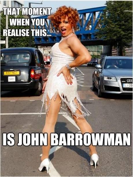That Moment When You Realize... #JohnBarrowman