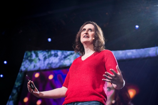 Kate Stone at TED2013 / Photo: James Duncan Davidson