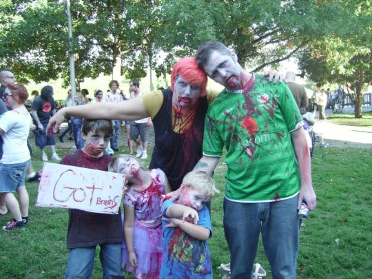 From our first Zombie Walk in 2010